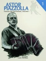 Tangos For 2 Pianos Volume 1 Astor Piazzolla Partition laflutedepan