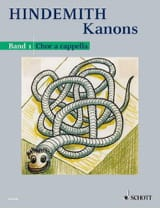 Kanons 1 Paul Hindemith Partition Chœur - laflutedepan.com