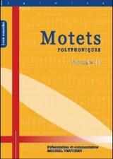 Motets Polyphoniques Volume 2 Partition Chœur - laflutedepan.com
