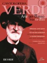 Giuseppe Verdi - Arie Per Basso - Partition - di-arezzo.fr