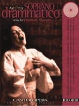 Arie Per Soprano Dramatico Partition Opéras - laflutedepan.com