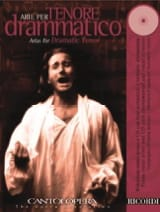 Arie Per Tenore Dramatico Partition Opéras - laflutedepan.com