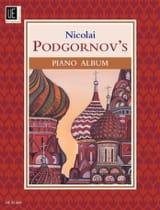 Piano Album Nicolai Podgornov Partition Piano - laflutedepan.com