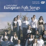 European Folk Songs (Voix mixtes). CD Partition laflutedepan.com