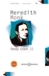 Panda Chant 2 Meredith Monk Partition Chœur - laflutedepan.com