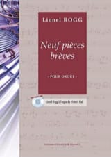 Lionel Rogg - 9 Pièces Brèves - Partition - di-arezzo.fr