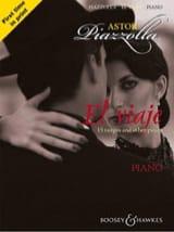 El Viaje. Astor Piazzolla Partition Piano - laflutedepan.com