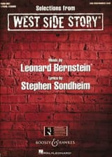 West Side Story. 4 mains Leonard Bernstein Partition laflutedepan.com