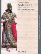 Nabucco Giuseppe Verdi Partition Opéras - laflutedepan.com
