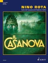 Nino Rota - Suite Del Casanova Di Federico Fellini - Partitura - di-arezzo.es