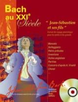 BACH - Bach Au 21ème Siècle - Partition - di-arezzo.fr