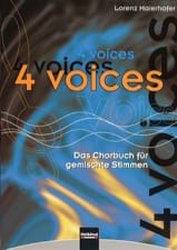 4 Voices Partition Chœur - laflutedepan.com