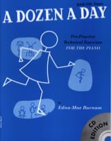 - Dozen A Day Volume 1 - with CD (in English) - Sheet Music - di-arezzo.com