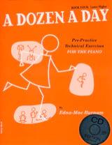 A Dozen A Day Volume 4 - en Anglais (avec CD) laflutedepan.com