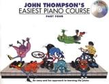 Easiest Piano Course Volume 4 avec CD John Thompson laflutedepan.com