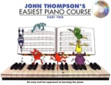 Easiest Piano Course Volume 2 avec CD John Thompson laflutedepan