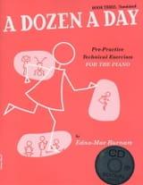 A Dozen A Day Volume 3 - en anglais avec CD laflutedepan.com