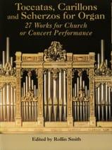 Toccatas, Carillons et Scherzos Partition Orgue - laflutedepan.com