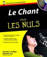 Le Chant Pour les Nuls Partition Pédagogie - laflutedepan.com