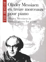 Olivier Messiaen - 13 Pieces For Piano - Sheet Music - di-arezzo.com