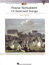 15 Selected Songs. Voix Grave SCHUBERT Partition laflutedepan