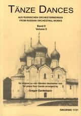 Tänze Aus Russischen Orchesterwerken Volume 2. 4 Mains laflutedepan.com