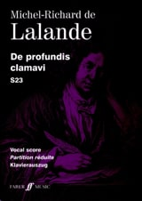 De Profundis Clamavi S 23 Michel-Richard de Lalande laflutedepan.com