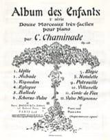 Album des Enfants 2ème Série Opus 126 Cécile Chaminade laflutedepan