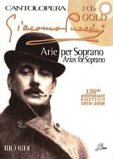 Giacomo Puccini - Arie Per Soprano + 2 Cds - Partition - di-arezzo.fr