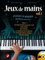 - Jeux de Mains. 4 Mains - Partition - di-arezzo.fr