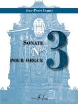 Sonate 3 Jean-Pierre Leguay Partition Orgue - laflutedepan.com