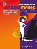 Microswing Christopher Norton Partition Piano - laflutedepan.com