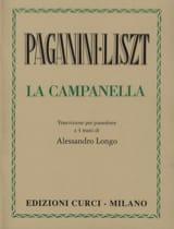La Campanella. 4 Mains Liszt Franz / Paganini Niccolo laflutedepan.com