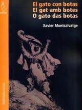 Xavier Montsalvatge - El Gato Con Botas - Partition - di-arezzo.fr