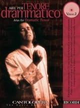 Arie Per Tenore Drammatico Volume 2 - Partition - laflutedepan.com