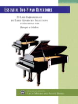 - Essential 2-Piano Repertoire - Partition - di-arezzo.fr