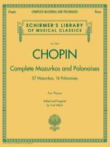 Mazurkas et Polonaises Frédéric Chopin Partition laflutedepan.com