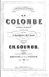 Charles Gounod - The Dove - Sheet Music - di-arezzo.com