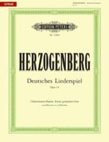 Deutsches Liederspiel Op. 14 laflutedepan.com