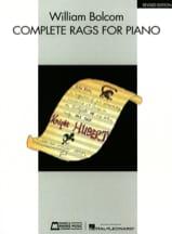 William Bolcom - Complete Rags - Sheet Music - di-arezzo.com