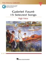 15 Selected Songs. Voix Haute Gabriel Fauré Partition laflutedepan.com