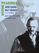 Astor Piazzolla - Tango History. 4 hands. - Sheet Music - di-arezzo.co.uk