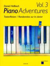 Randonnées sur le Clavier Volume 3 Daniel Hellbach laflutedepan.com