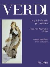 Giuseppe Verdi - Le Piu Belle Arie Per Soprano. - Partition - di-arezzo.fr