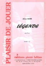 Légende Aline Sans Partition Piano - laflutedepan.com