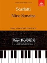9 Sonates Alessandro Scarlatti Partition Piano - laflutedepan.com