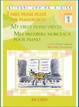 Mes premiers morceaux pour piano. Volume 1 laflutedepan.com