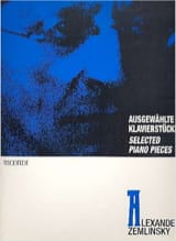Selected Piano Pieces Alexander Zemlinsky Partition laflutedepan.com