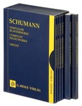 Robert Schumann - L'œuvre Complète Pour Piano - 6 Volumes sous Coffret - Partition - di-arezzo.fr