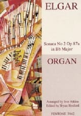 2eme Sonate Op. 87a ELGAR Partition Orgue - laflutedepan.com